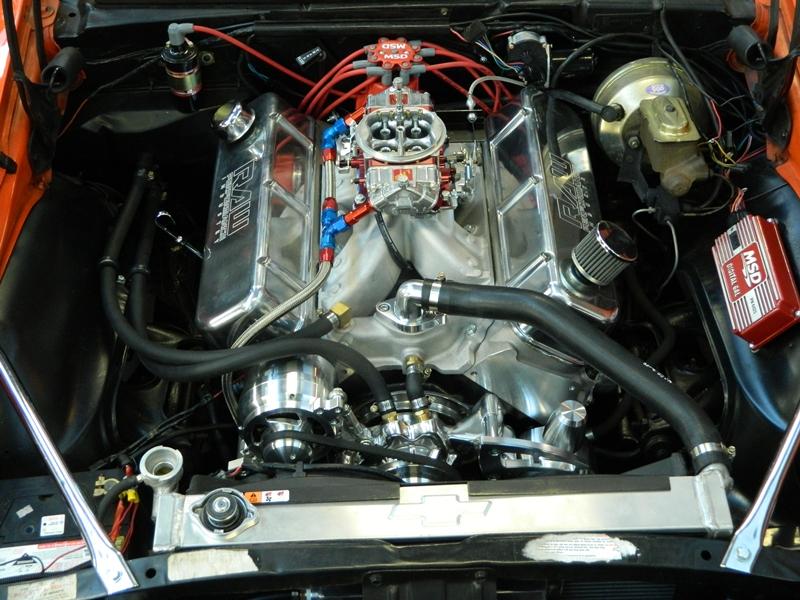 11 camaro 540 close-up