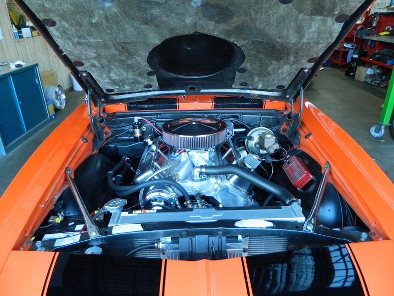 15 camaro 540 centred with hood
