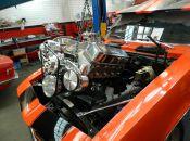 8 camaro 540 install close